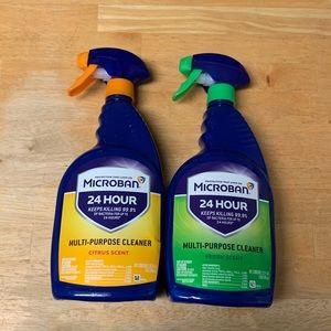 2 Microban spray (32 oz ea)